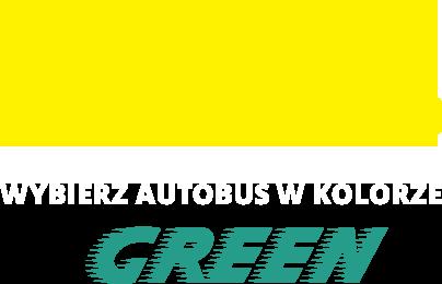 Wybierz autobus w kolorze green